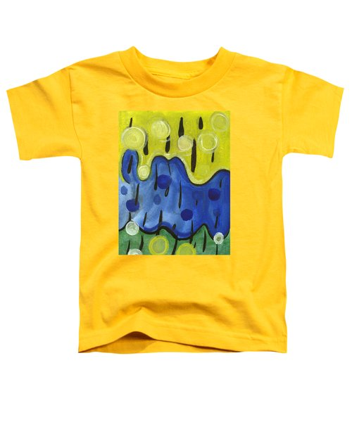 Tropical Rain Toddler T-Shirt