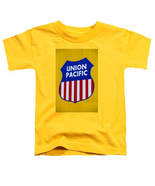 Union Pacific Raolroad Sign Toddler T-Shirt