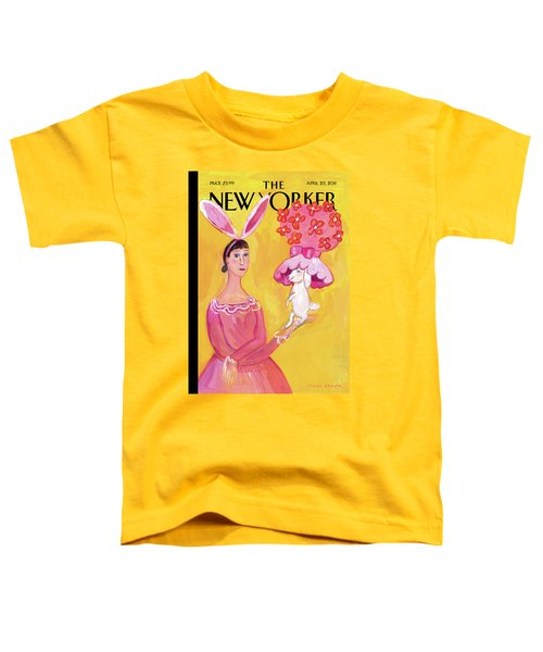 New Yorker April 25th, 2011 Toddler T-Shirt
