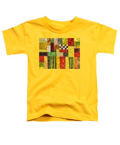 Vegetable Abstract Toddler T-Shirt