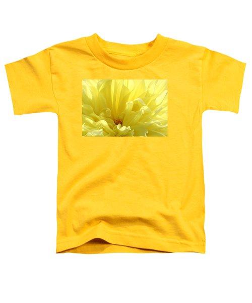 Yellow Dahlia Burst Toddler T-Shirt