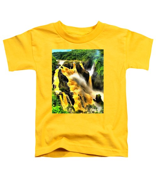 Yellow River Toddler T-Shirt