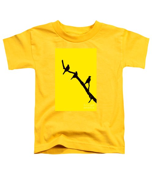 3 Birds On A Limb Toddler T-Shirt