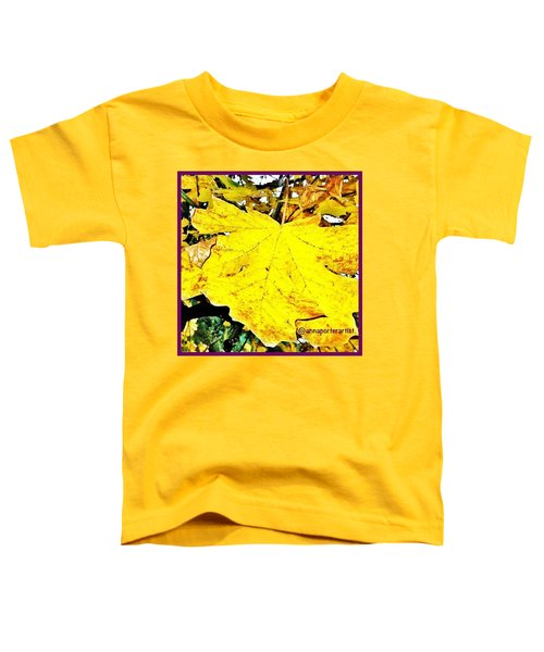 Giant Maple Leaf Toddler T-Shirt