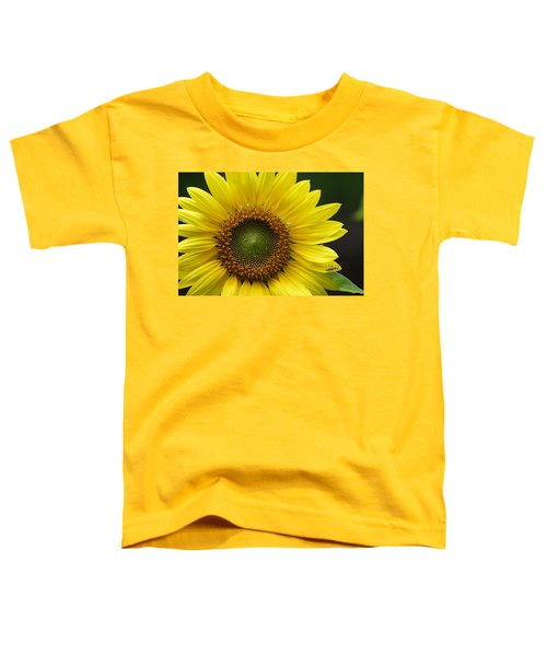 Sunflower With Insect Toddler T-Shirt