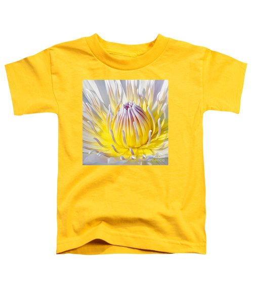 Blue Water Lily Toddler T-Shirt