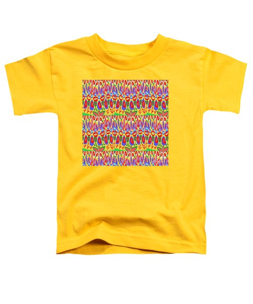 Happy Celebrations Abstract Acrylic Painting Fineart From Navinjoshi At Fineartamerica.com These Gra Toddler T-Shirt by Navin Joshi