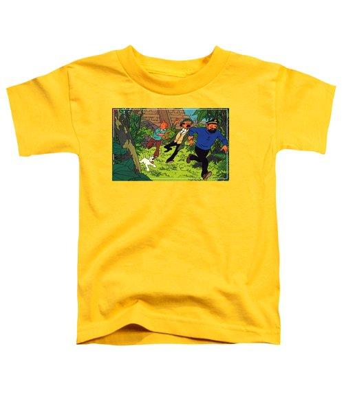 The Adventures Of Tintin Toddler T-Shirt