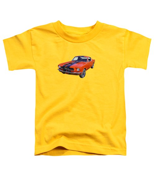 1966 Ford Mustang Fastback Toddler T-Shirt