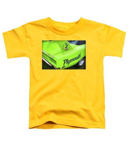 1970 Plymouth Superbird Toddler T-Shirt by Gordon Dean II