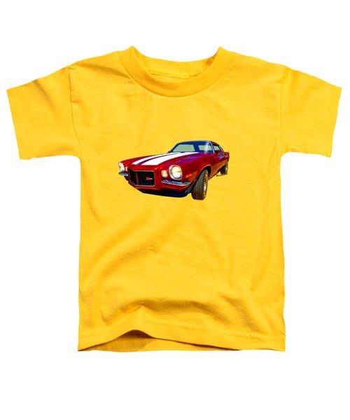 1971 Z28 Camaro Hdr Vivid Remembrance Toddler T-Shirt