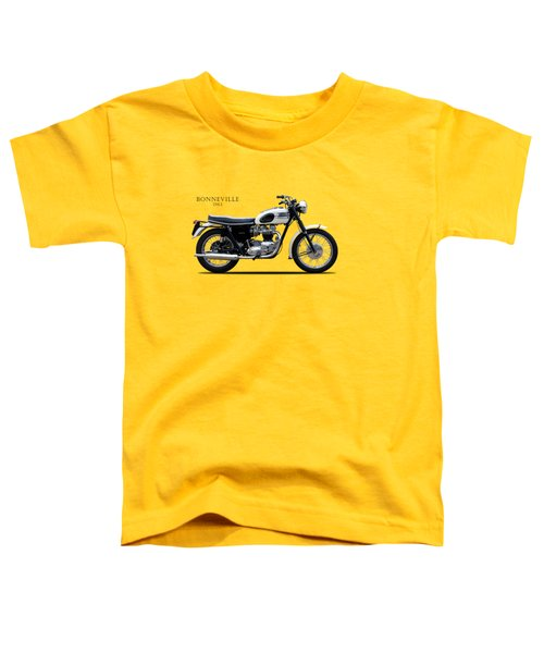 Triumph Bonneville 1963 Toddler T-Shirt