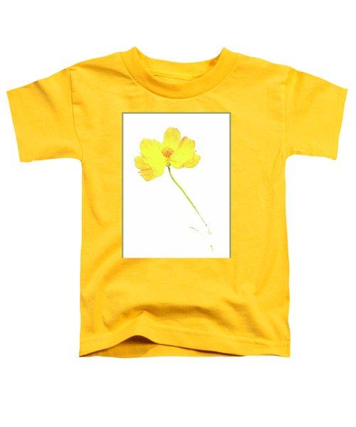 Cosmos Flower Toddler T-Shirt
