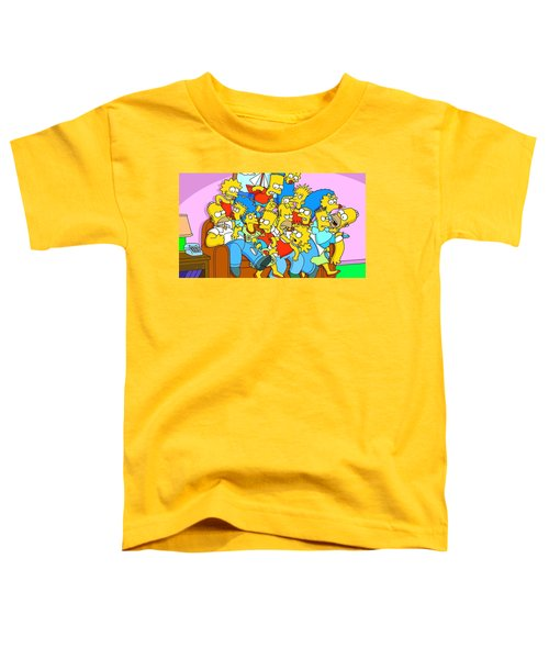 The Simpsons Toddler T-Shirt