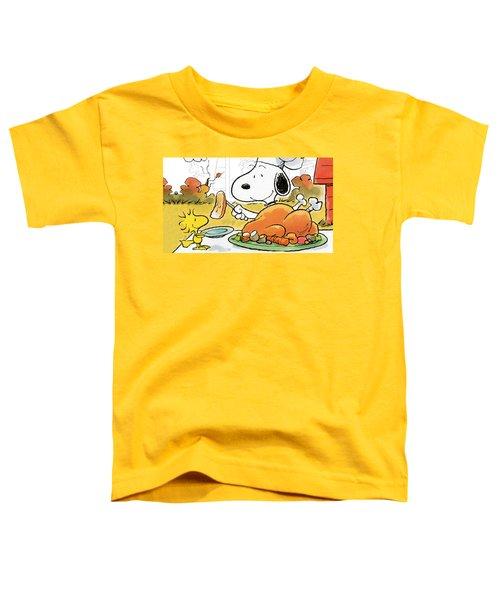 A Charlie Brown Thanksgiving Toddler T-Shirt