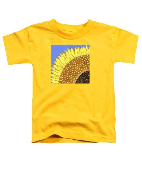 A Slice Of Sunflower Toddler T-Shirt