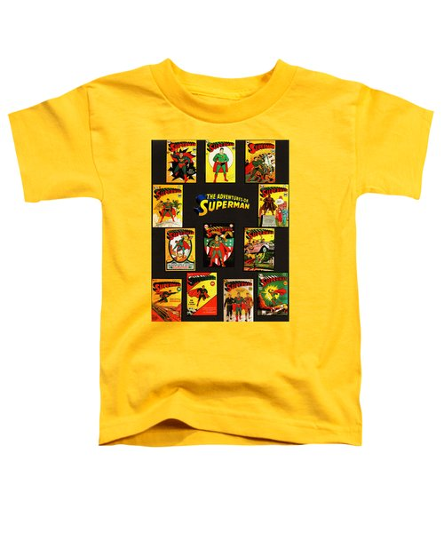 Adventures Of Superman Toddler T-Shirt