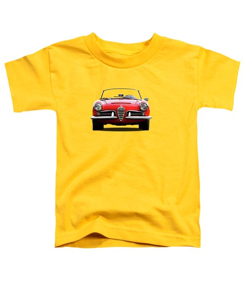 Alfa Romeo Spider Toddler T-Shirt