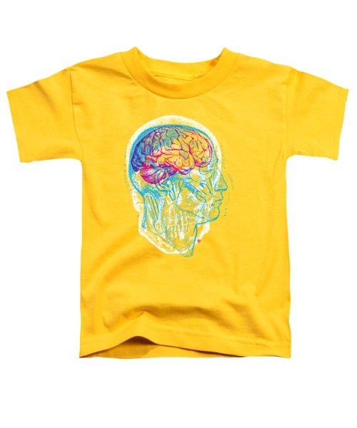 Anatomy Skull Toddler T-Shirt