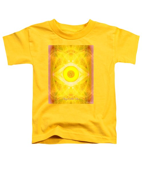 Angel Of The Sun Toddler T-Shirt