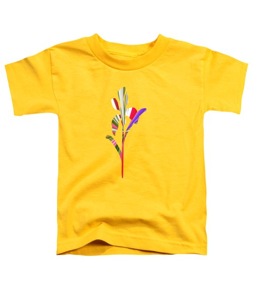 Artsy Flower Toddler T-Shirt