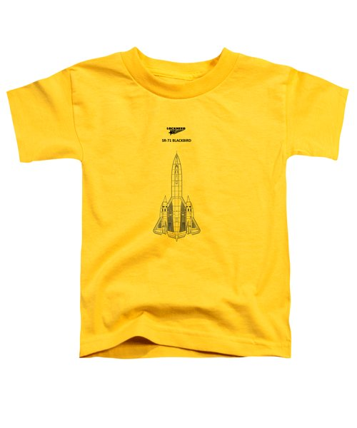 Sr-71 Blackbird Toddler T-Shirt