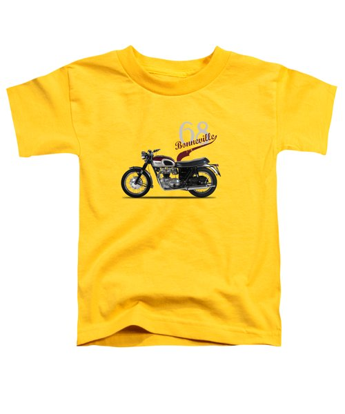Triumph Bonneville T120 1968 Toddler T-Shirt