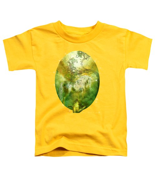 Unicorn Of The Forest  Toddler T-Shirt