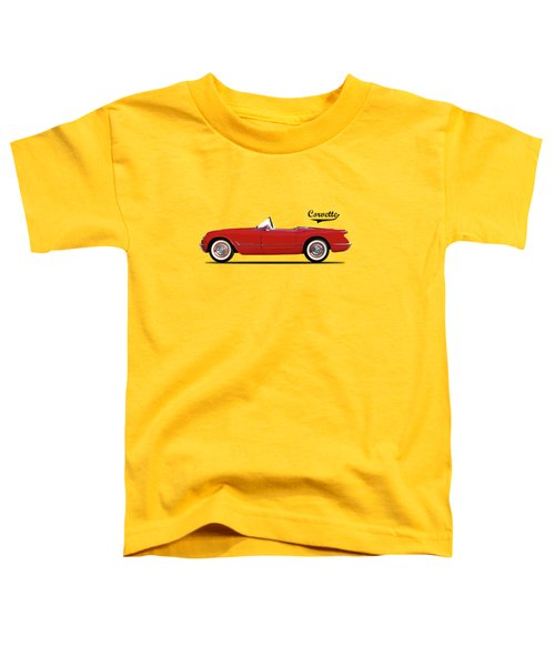 The Chevrolet Corvette 1954 Toddler T-Shirt