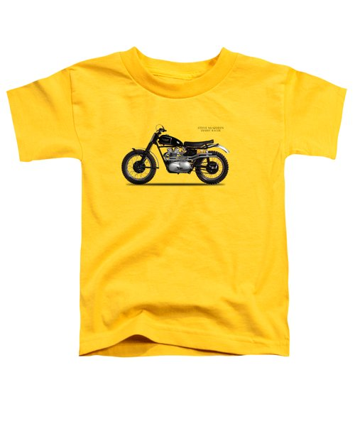 The Steve Mcqueen Desert Racer Toddler T-Shirt