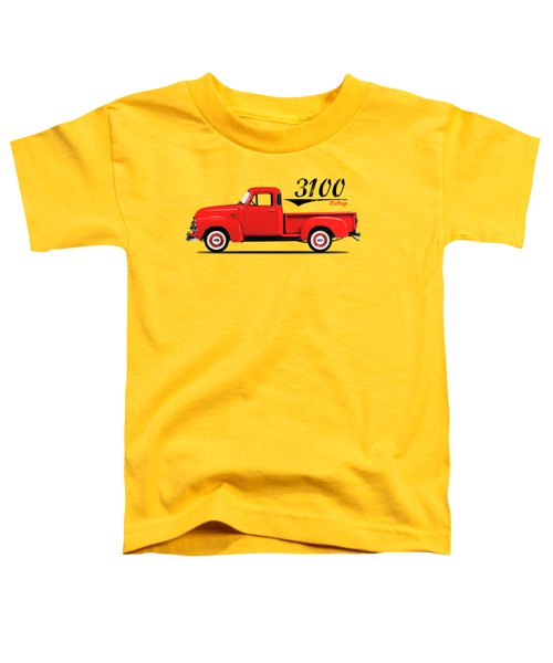 The 3100 Pickup Truck Toddler T-Shirt by Mark Rogan