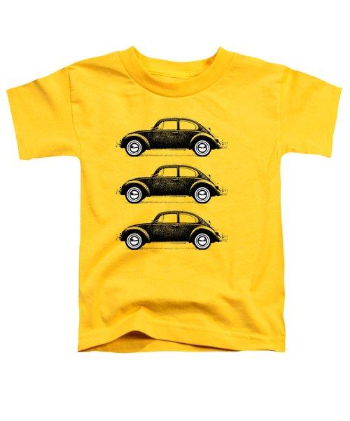 Think Small Toddler T-Shirt by Mark Rogan