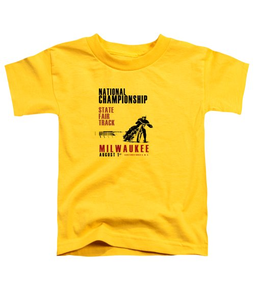 National Championship Milwaukee Toddler T-Shirt by Mark Rogan