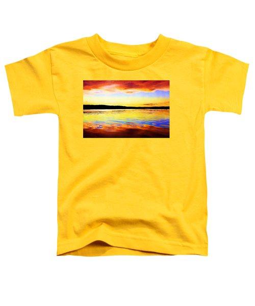 As Above So Below - Digital Paint Toddler T-Shirt