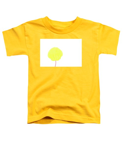 Aspen Yellow Toddler T-Shirt