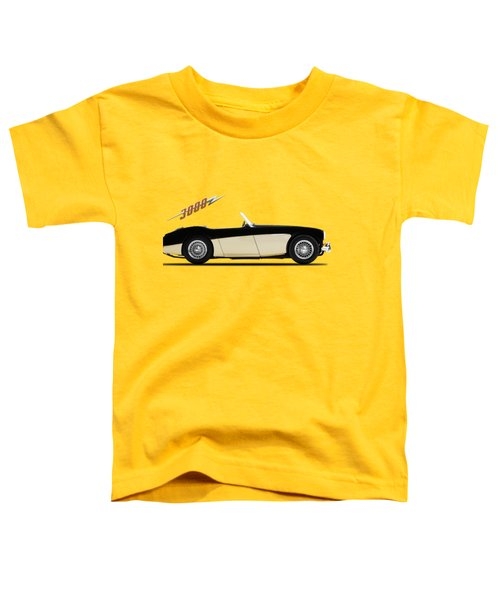 Austin Healey 3000 Toddler T-Shirt by Mark Rogan
