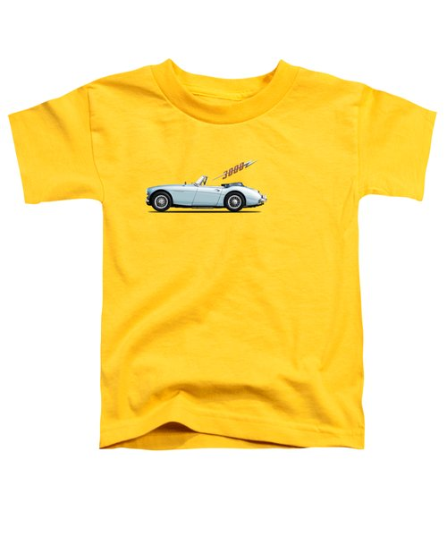 Austin Healey 3000 Mk3 Toddler T-Shirt by Mark Rogan