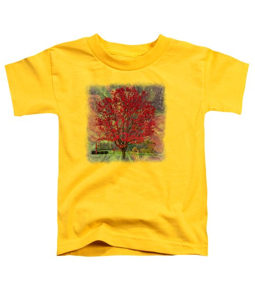Autumn Scenic 2 Toddler T-Shirt by John M Bailey