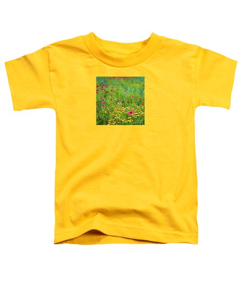 Blooming Wildflowers Toddler T-Shirt