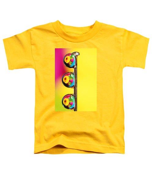 Bouquet In A Pin Drop Toddler T-Shirt