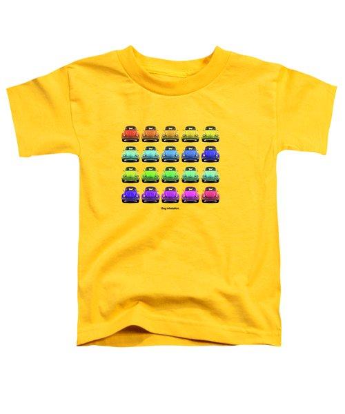 Bug Infestation. Toddler T-Shirt by Mark Rogan