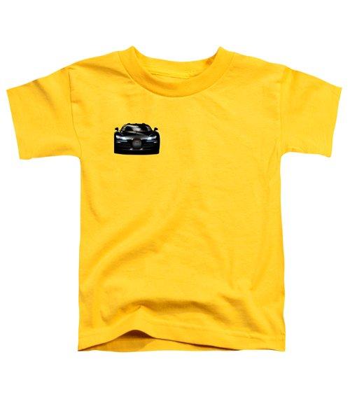 Bugatti Veyron Toddler T-Shirt by Mark Rogan
