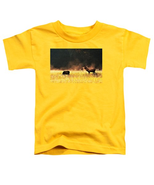 Bull With His Girl Toddler T-Shirt