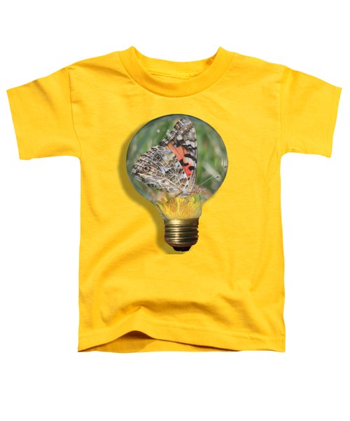 Butterfly In A Bulb II Toddler T-Shirt