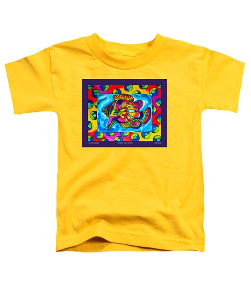 Caribbean Colors Of Caye Caulker Belize Toddler T-Shirt