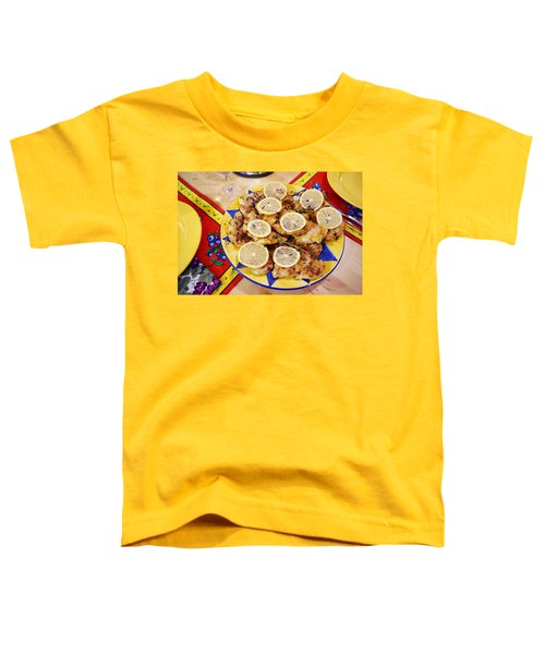 Chicken With Lemon Toddler T-Shirt