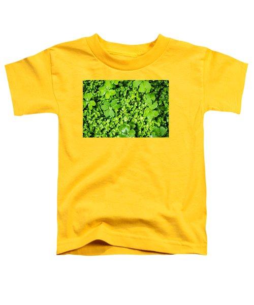 Lush Green Soothing Organic Sense Toddler T-Shirt