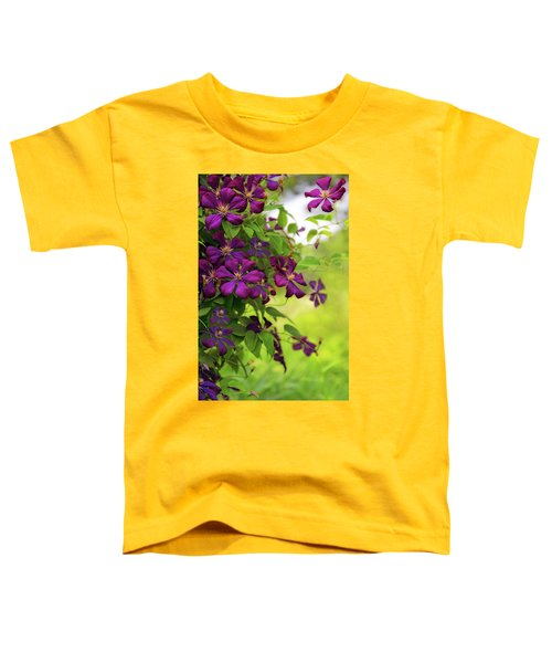 Copious Clematis Toddler T-Shirt