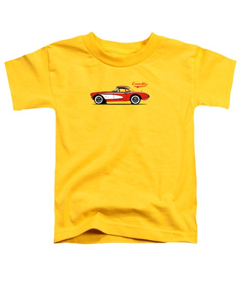 Corvette 57 Toddler T-Shirt