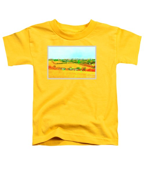 countryside  in Cornwall, UK Toddler T-Shirt